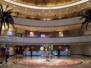 The five star J.W. Marriott in Chongqing