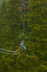 Zipline in Ketchikan by Blaine Harrington III/Travel Alaska