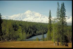Mt. McKinley Denali by Frank Flavin/Travel Alaska