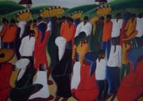 A Haitien Market by Casimir