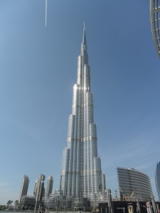 Burg Khalifa, the tallest buidling in the world
