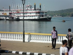 Casino riverboats are one of Goa's tourist attractions